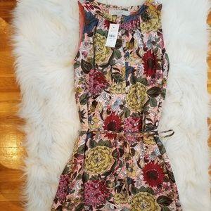 LOFT floral dress - 2018 summer - XS